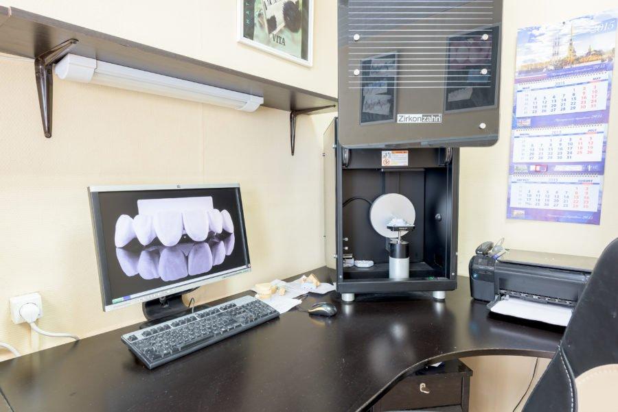 Клиника №2 — пр. Науки, д.10, корп.1  — Зуботехническая лаборатория